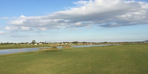 Water, bunkers and an interesting layout. Maroochy River is a nice golf course